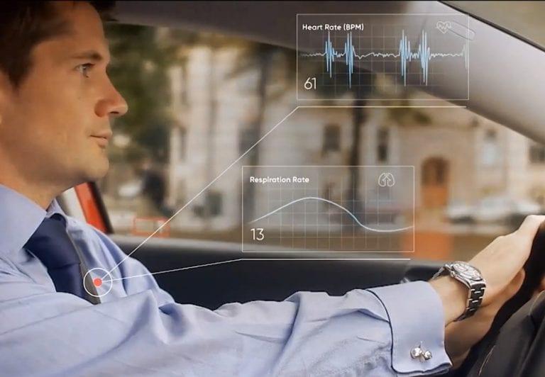 CU-BX הישראלית תנטר את מצב הנהג במרצדס