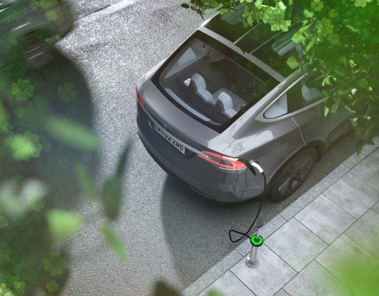 עמדות הטעינה האידאליות לרכב חשמלי יצוצו מתחת למדרכה